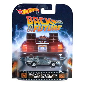Hot Wheels® Back To The Future Time Machine Vehicle