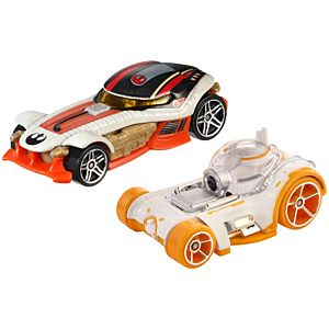 Hot Wheels® Star Wars™ Character Car 2-Pack Bb-8™ & Poe Dameron™