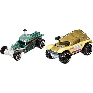 Hot Wheels® Star Wars™ Boba Fett™ vs. Bossk™ Character Car 2-Pack