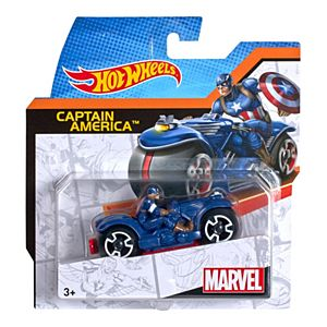 Hot Wheels® Marvel Moto Captain America