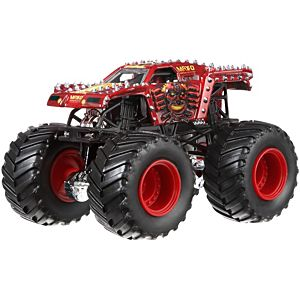 Hot Wheels Monster Jam 1:64 Max-D (Red)