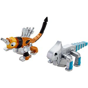 Dinotrux Ace & Click-Clack Character 2-Pack