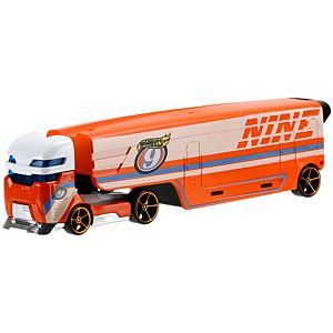 Hot Wheels® Super Rigs Speedway Hauler Vehicle