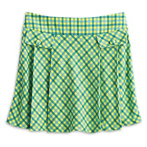 Pleated Plaid Skort for Girls