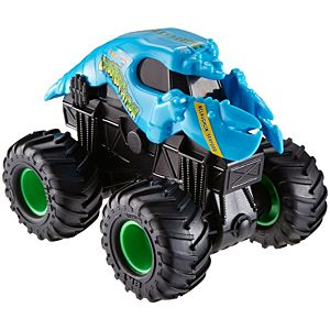 Hot Wheels Monster Jam Rev Tredz Crushstation Vehicle