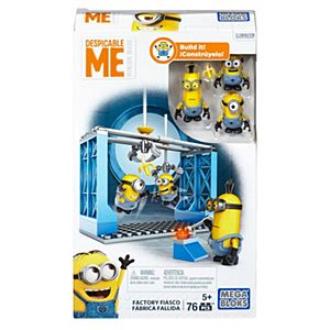 Mega Bloks® Despicable Me™ Factory Fiasco