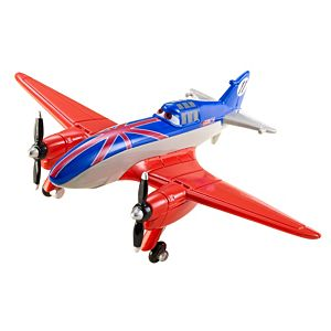 Disney Planes Wings Around The Globe Racers - Bulldog