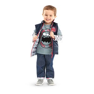 Thomas & Friends™ Tee with Vest Set