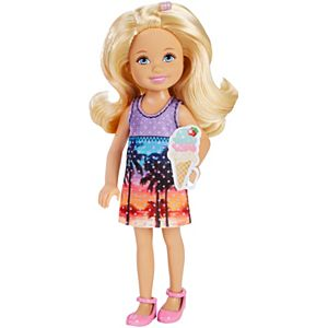 Barbie™ and Her Sisters in a Puppy Chase - Chelsea™ Doll - Tropical Dress