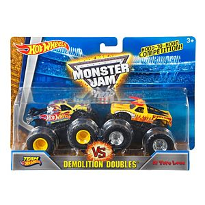 Hot Wheels® Monster Jam® Demolition Doubles® - Team Hot Wheels® vs El Toro Loco®