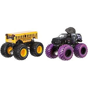 Hot Wheels® Monster Jam® Demolition Doubles® - Higher Education vs Mohawk Warrior®