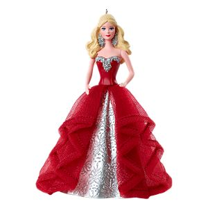 2015 Holiday Barbie™  Doll Ornament - Caucasian