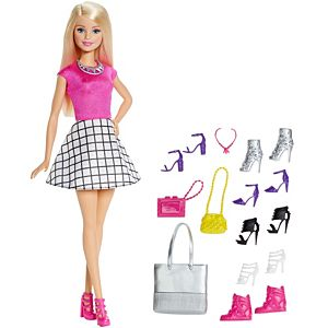 Barbie® Doll and Shoes