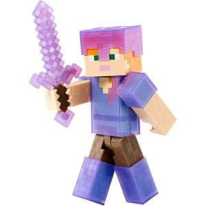 Minecraft Action Figure - Armor Up Alex