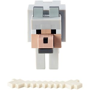 Minecraft Action Figure - Tame-Able Wolf