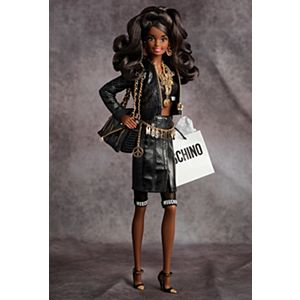 <em>Moschino </em>Barbie&#174; Doll &#8211; African American