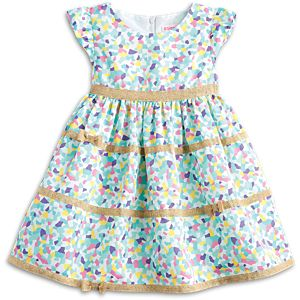 Confetti Cutie Dress for Little Girls