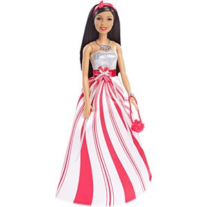 Barbie® Candy Cane Holiday Doll