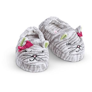 Bitty Kitty Slippers for Little Girls
