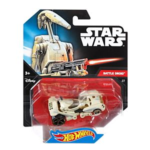 Hot Wheels® Star Wars™ Battle Droid Character Car