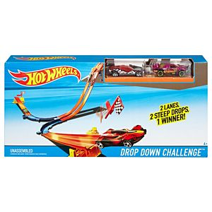 Hot Wheels® Drop Down Challenge™ Track Set