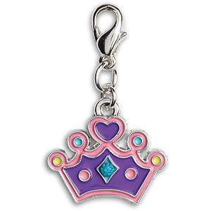 Purple Princess Charm for Girls