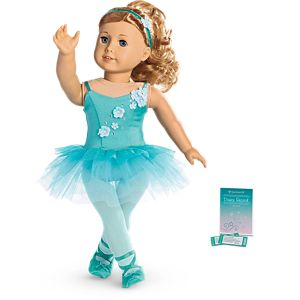 Ombre Ballet Outfit for 18-inch Dolls
