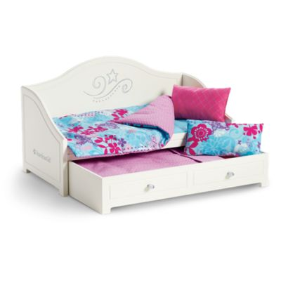 Trundle Bed & Bedding Set | Doll Beds |American Girl