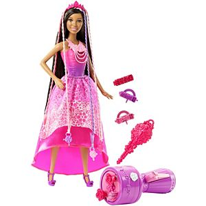 Barbie® Endless Hair Kingdom™ Snap 'n Style Princess Nikki® Doll