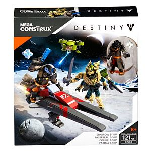 Mega Bloks S-10V Destiny® Sparrow Building Kit