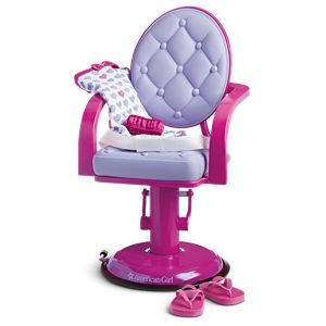 Salon Chair & Wrap Set