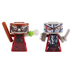 VS RIP-SPIN WARRIORS™ Splinter Vs. Shredder 2 Pack