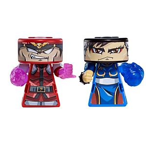 VS RIP-SPIN WARRIORS™ M. Bison Vs. Chun-Li 2 Pack
