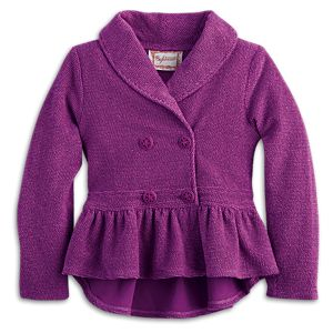 Plum Jacket for Girls
