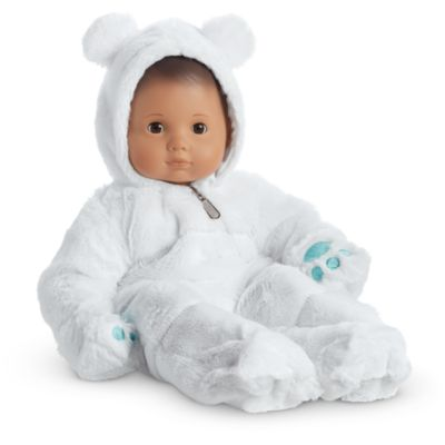 Bitty Baby Doll Bunting with Hood