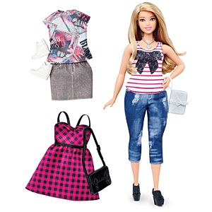 Barbie® Fashionistas® 37 Everyday Chic Doll & Fashions - Curvy
