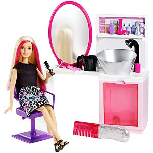 Barbie® Sparkle Style Salon™ & Doll - Blonde