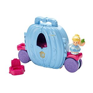 Disney Princess Cinderella's Fold 'n Go Carriage by Little People®