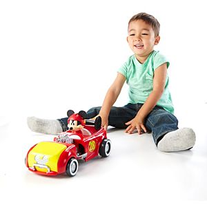 Disney Mickey and the Roadster Racers - Transforming Hot Rod Mickey