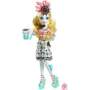 Monster High® Shriekwrecked™ Nautical Ghouls Lagoona Blue™ Doll