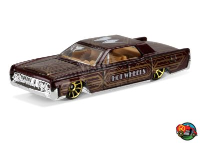 64 Lincoln Continental Dtx89 Hot Wheels Collectors