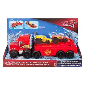 Disney•Pixar Cars Splash Racers Mack Transporter