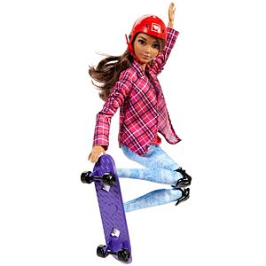 Barbie® Made To Move™ Skateboarder