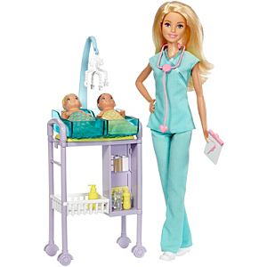 Barbie® Baby Doctor Playset
