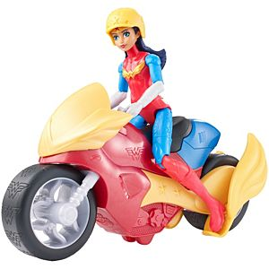DC Super Hero Girls™ Wonder Woman™& Motorcycle Dolls