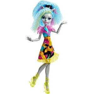 Monster High® Electrified Hair-Raising Ghouls™ Silvi Timberwolf™ Doll