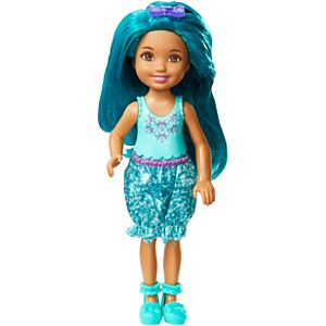 Barbie™ Dreamtopia Teal Rainbow Cove™ Chelsea Sprite Doll
