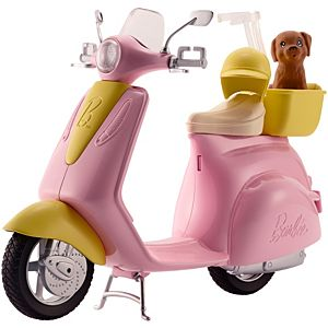 Barbie® Scooter & Puppy