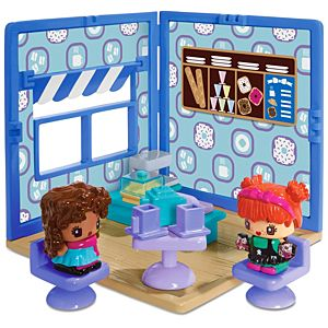 My Mini MixieQ's™ Café-Bakery Mini Room Playset