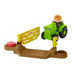 Little People® Helpful Harvester Tractor